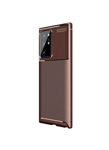 Microsonic Samsung Galaxy Note 20 Ultra Kılıf Legion Series Kahve